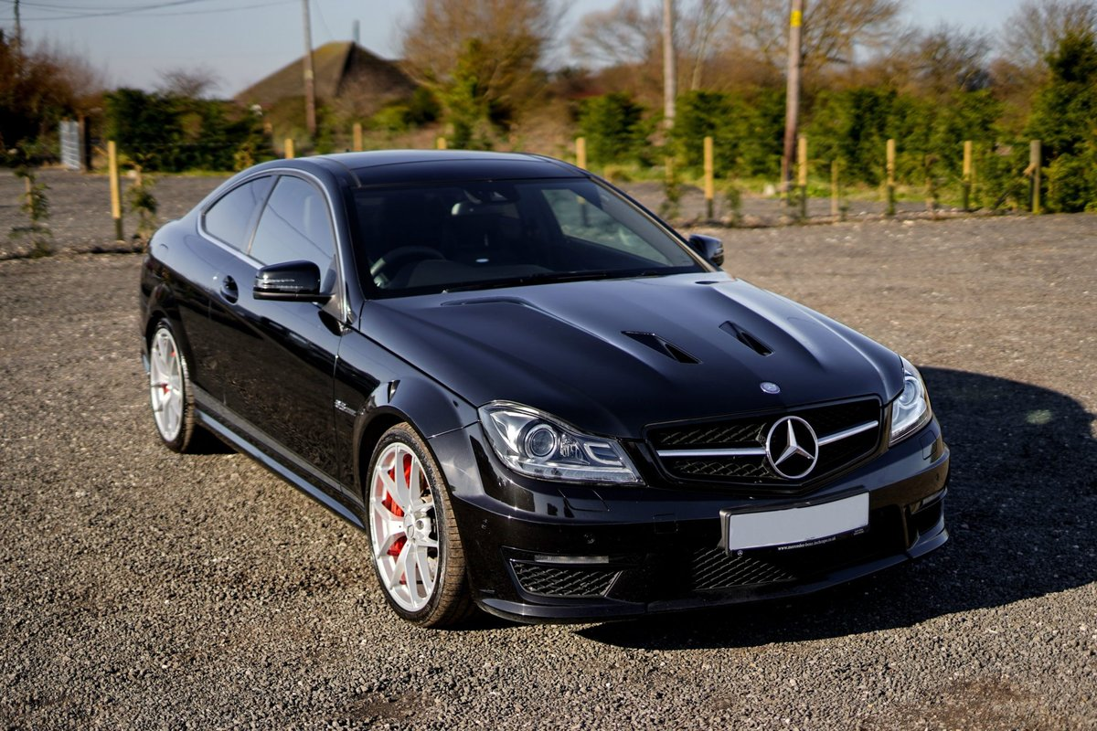 2013 Mercedes-Benz AMG C63 6.3 MCT 507 Edition Coup SOLD (picture 4 of 6)