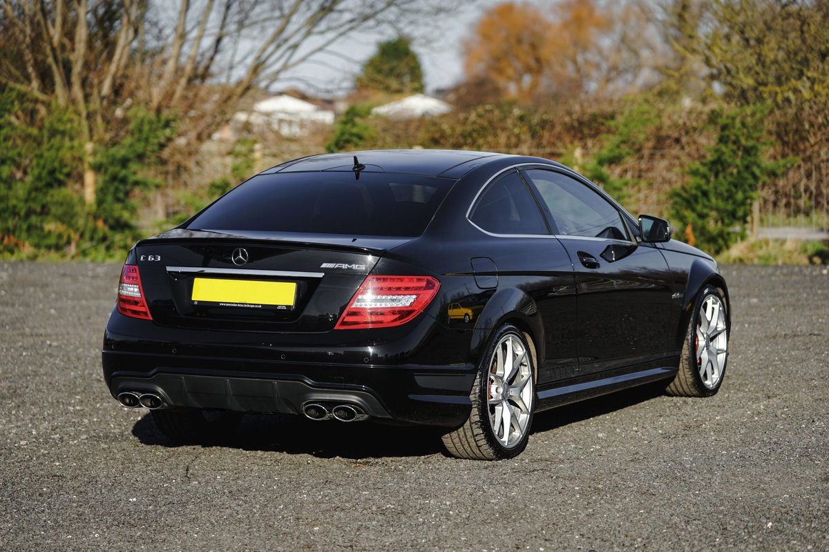 2013 Mercedes-Benz AMG C63 6.3 MCT 507 Edition Coup SOLD (picture 5 of 6)