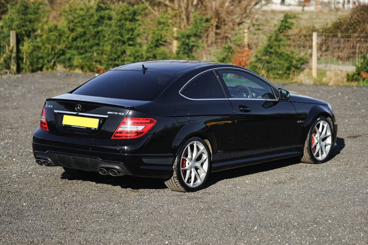 2013 Mercedes-Benz AMG C63 6.3 MCT 507 Edition Coup SOLD (picture 6 of 6)