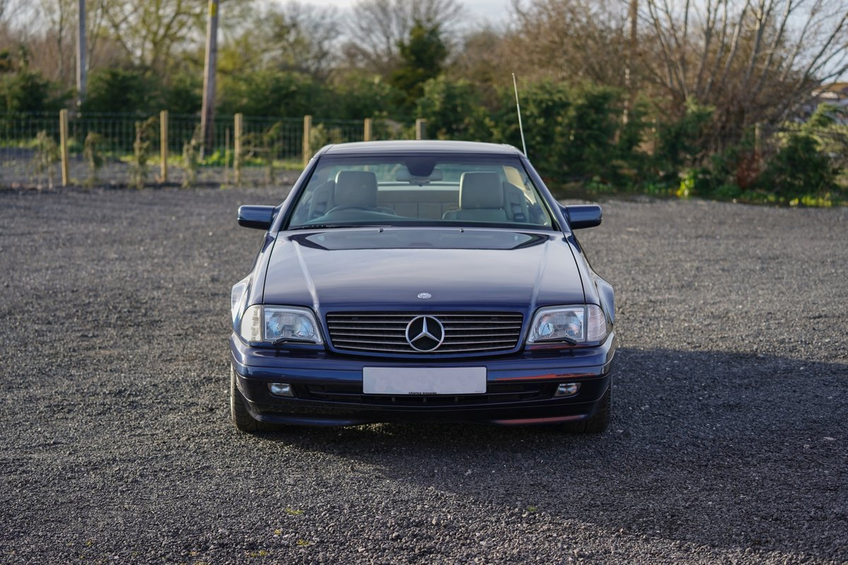 1996 Mercedes-Benz SL 320 R129 Auto Blue Low Mileage Immaculate C For Sale (picture 2 of 6)