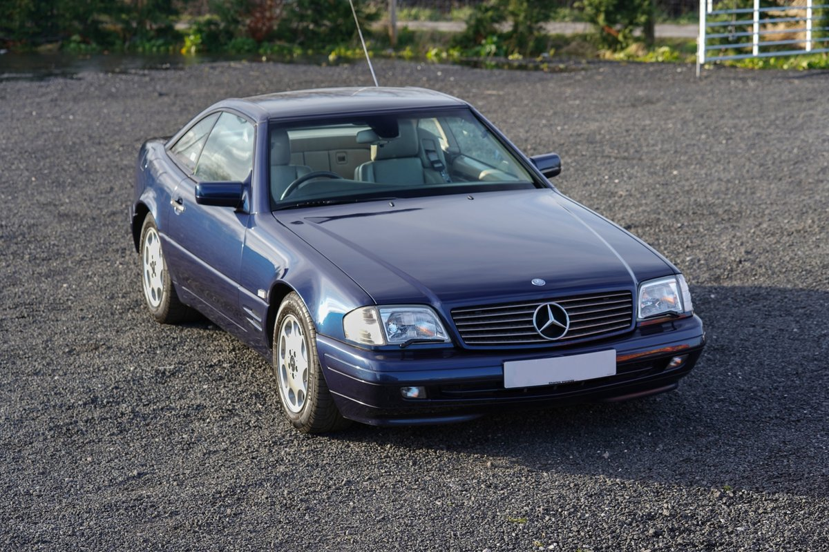 1996 Mercedes-Benz SL 320 R129 Auto Blue Low Mileage Immaculate C For Sale (picture 3 of 6)