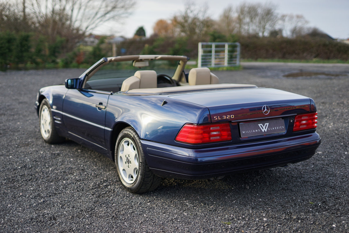 1996 Mercedes-Benz SL 320 R129 Auto Blue Low Mileage Immaculate C For Sale (picture 5 of 6)