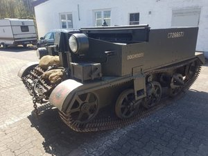 1944 Universal Carrier N0-2 Mk2, Carrier SOLD