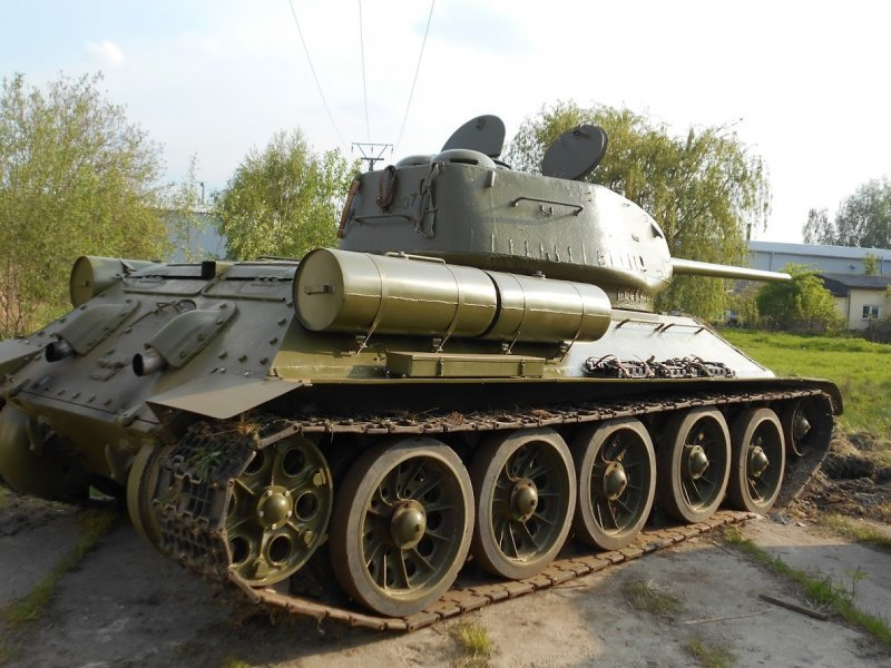 1943 Tank, Panzer, Russian Tank, Tank typ T34, T34 Tank For Sale (picture 1 of 6)