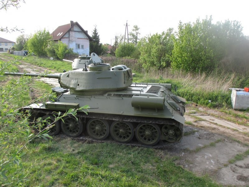 1943 Tank, Panzer, Russian Tank, Tank typ T34, T34 Tank For Sale (picture 2 of 6)