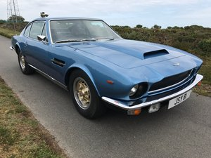 1977 Aston Martin V8 S3 Coupe, Manual , Webers, Service history SOLD