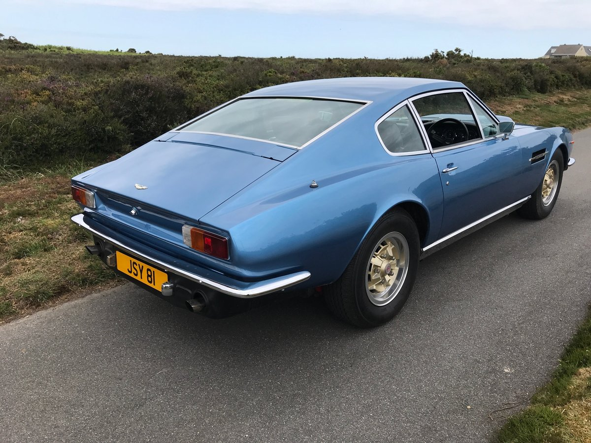 1977 Aston Martin V8 S3 Coupe, Manual , Webers, Service history SOLD (picture 3 of 6)