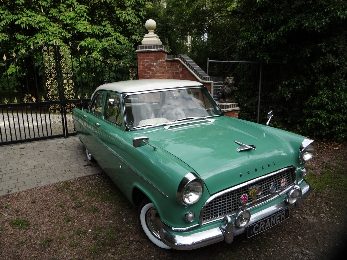 1960 ford consul SOLD (picture 1 of 6)