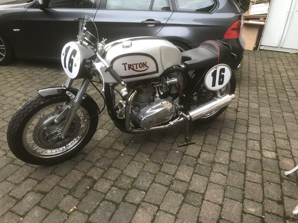 1956 Triton classic race bike For Sale (picture 1 of 6)