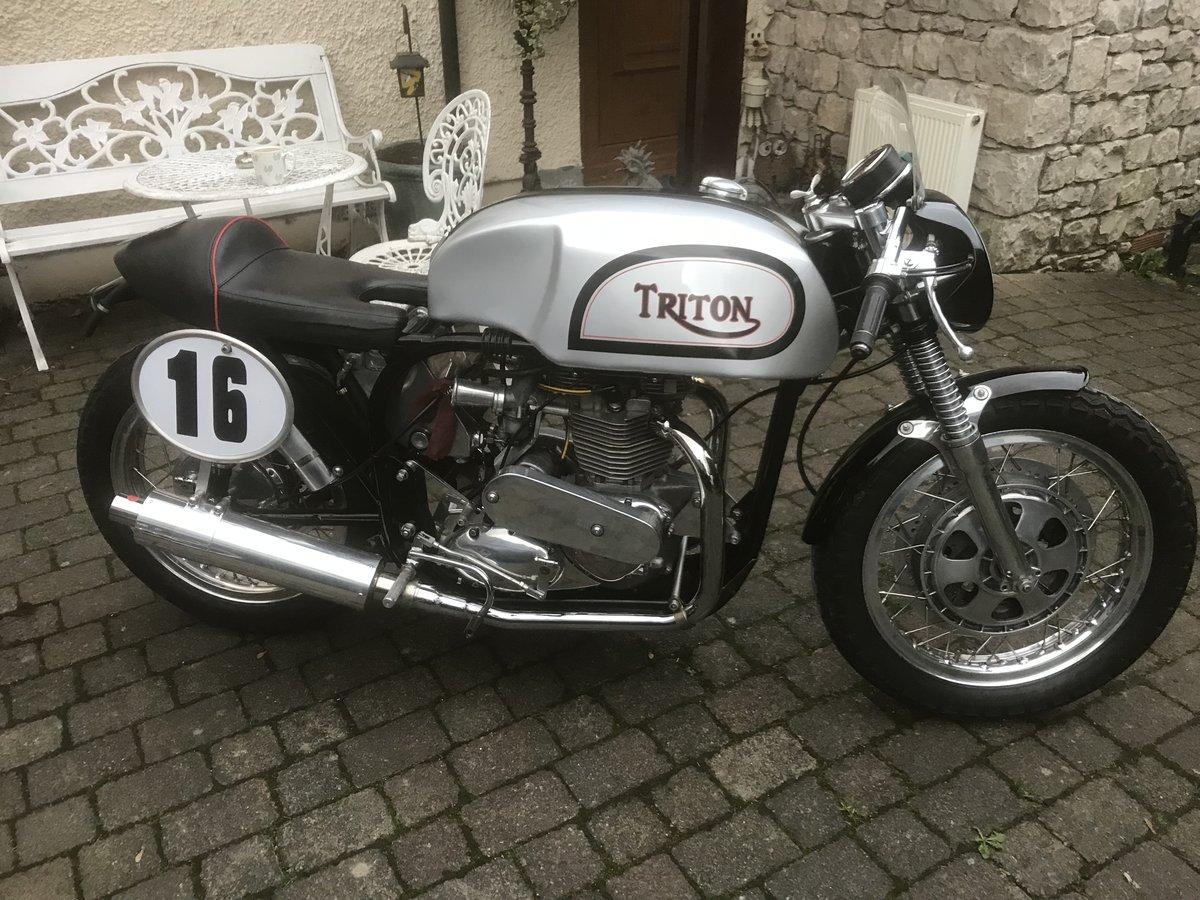 1956 Triton classic race bike For Sale (picture 3 of 6)