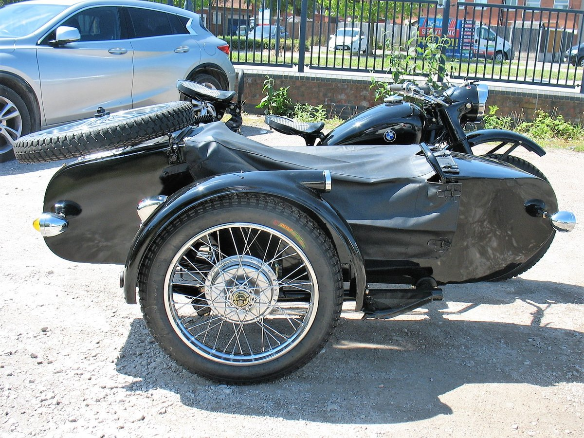 1978 Chang Jiang Sidecar. For Sale (picture 5 of 6)