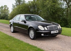 2003 Mercedes-Benz E320 Elegance SOLD by Auction