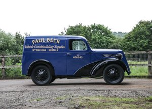 1938 Fordson Van SOLD by Auction