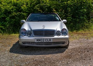 2002 Mercedes-Benz CLK55 AMG W208 For Sale by Auction