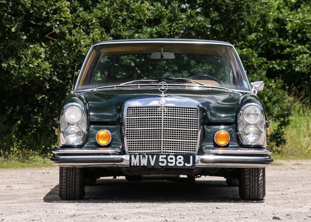 1971 Mercedes-Benz 280 SE SOLD by Auction (picture 1 of 6)