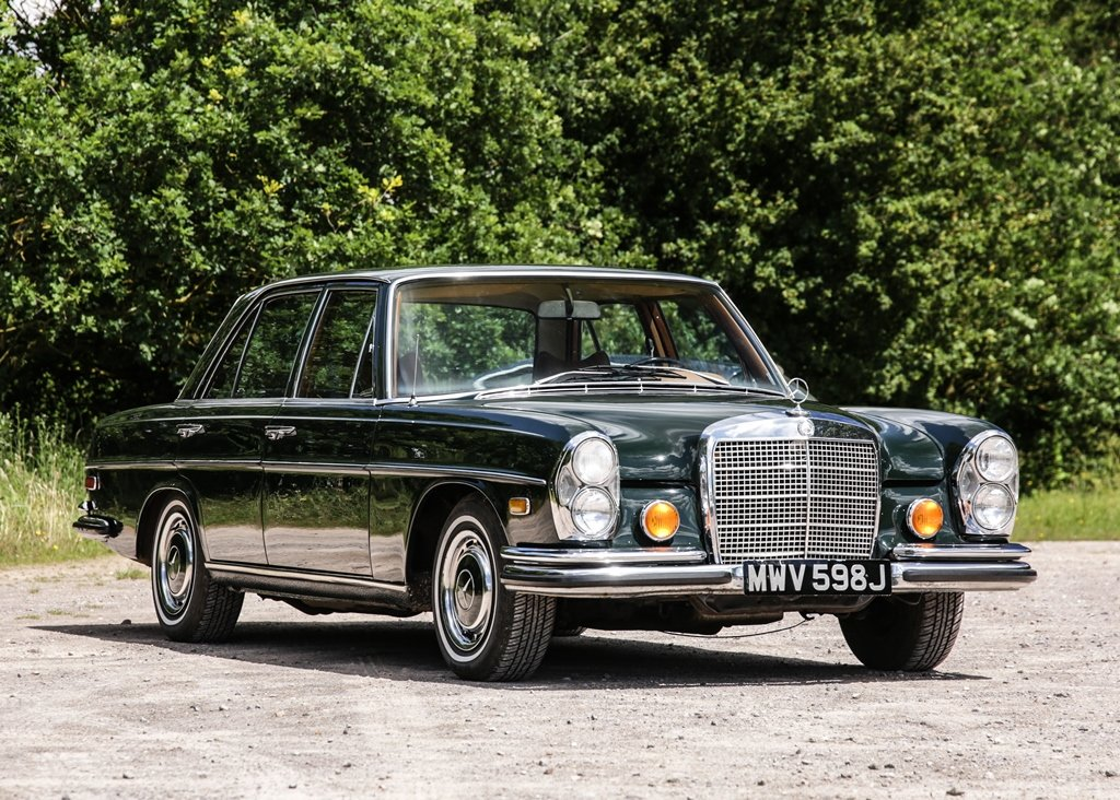 1971 Mercedes-Benz 280 SE SOLD by Auction (picture 2 of 6)