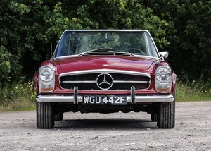 1968 Mercedes-Benz 280 SL Pagoda SOLD by Auction