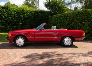 1986 Mercedes-Benz 300 SL Roadster SOLD by Auction
