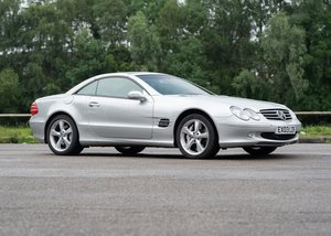 2003 Mercedes-Benz SL600 SOLD by Auction