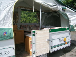 Pullman 535SE Pennine Trailer Tent/ Caravan  For Sale