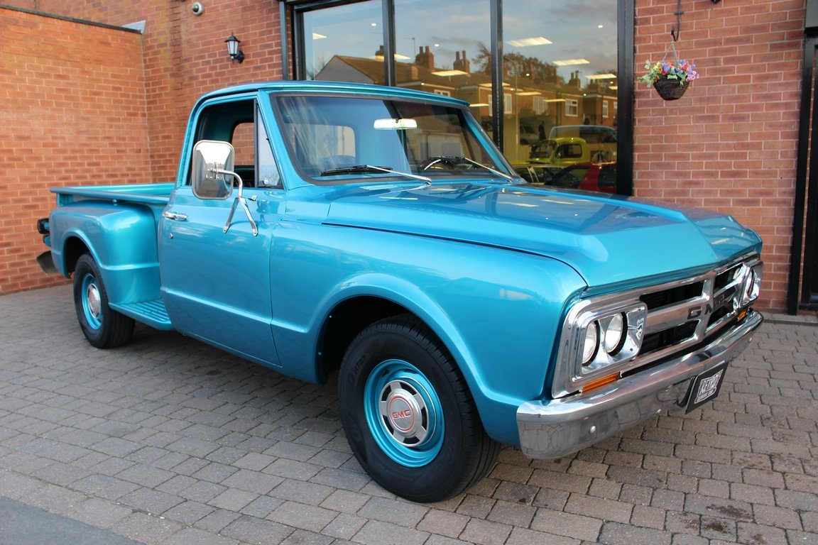 1967 GMC 350 V8 Stepside Pickup SOLD (picture 1 of 6)