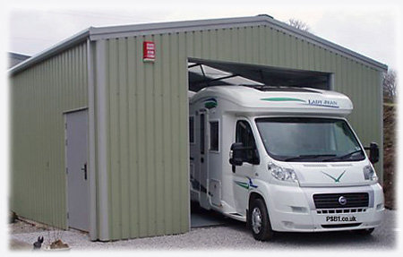 Motorhome camper garage For Sale (picture 1 of 6)