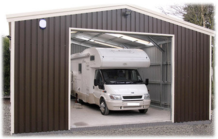 Motorhome camper garage For Sale (picture 2 of 6)