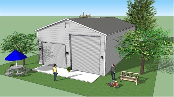 Motorhome camper garage For Sale (picture 4 of 6)