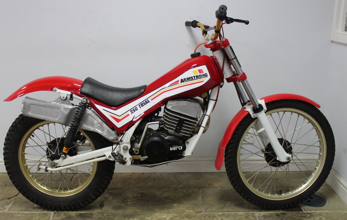c1982 Armstrong CMT 250 cc Trials Bike , Exceptional  SOLD (picture 1 of 6)