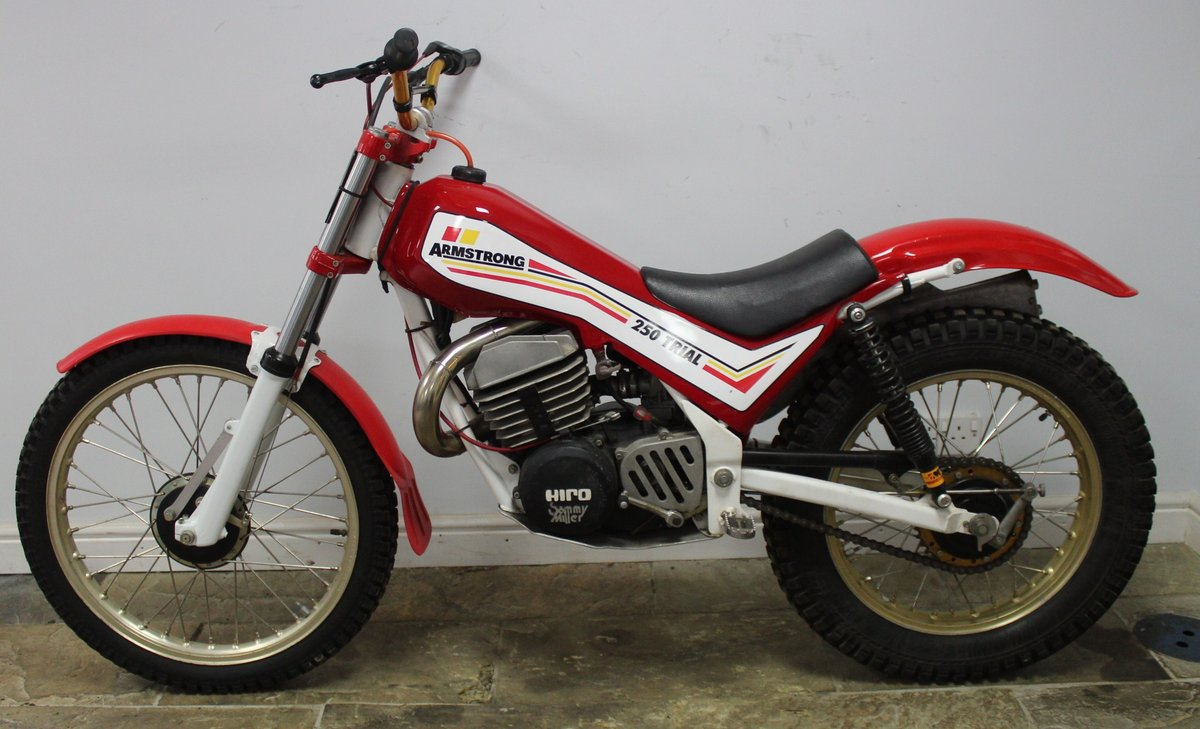 c1982 Armstrong CMT 250 cc Trials Bike , Exceptional  SOLD (picture 3 of 6)