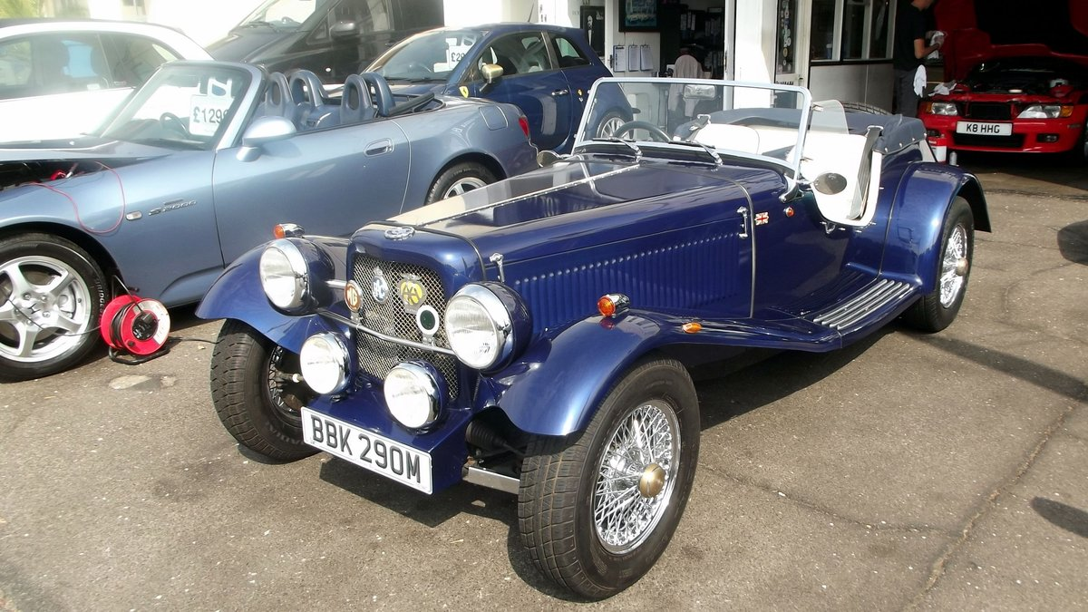 2006 NGTF 1800cc CONVERTIBLE WITH OVERDRIVE (BASED ON 1974 MGB) SOLD (picture 4 of 6)