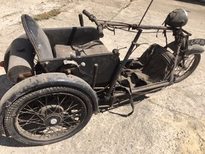 1937 Stanley Argson Invalid Tricycle for Auction Friday 25th Oct SOLD by Auction