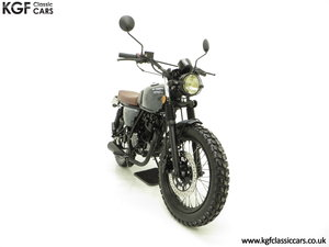2017 A Custom Mutt Hilts Grey 125, just 1,616 Miles and One Owner SOLD