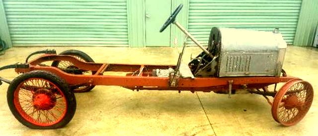 1913 Edwardian Minerva chassis from antipodean museum