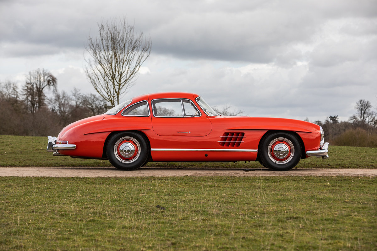 1954 Mercedes-Benz 300SL Gullwing SOLD by Auction (picture 1 of 6)