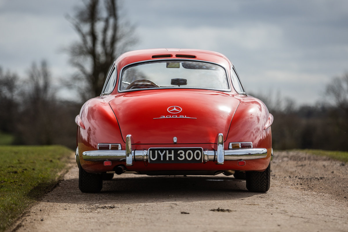 1954 Mercedes-Benz 300SL Gullwing SOLD by Auction (picture 2 of 6)