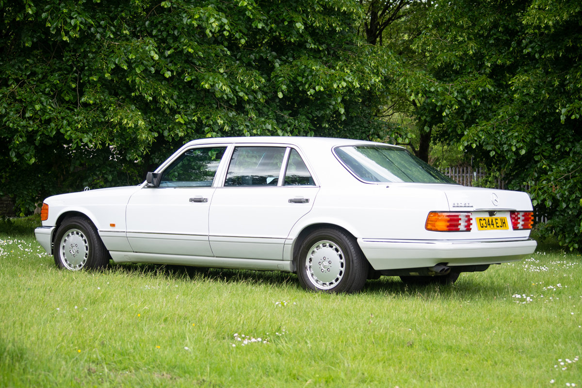 1990 Mercedes-Benz 560 SEL (W126) SOLD by Auction (picture 5 of 6)