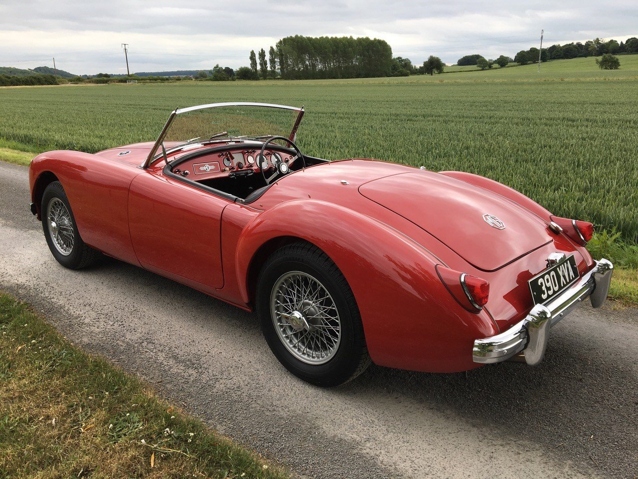 1957 MGA 1500 Roadster SOLD by Auction (picture 1 of 5)