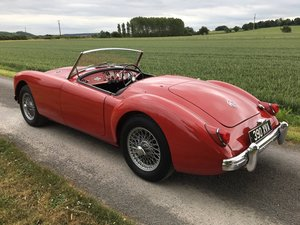 1957 MGA 1500 Roadster SOLD by Auction