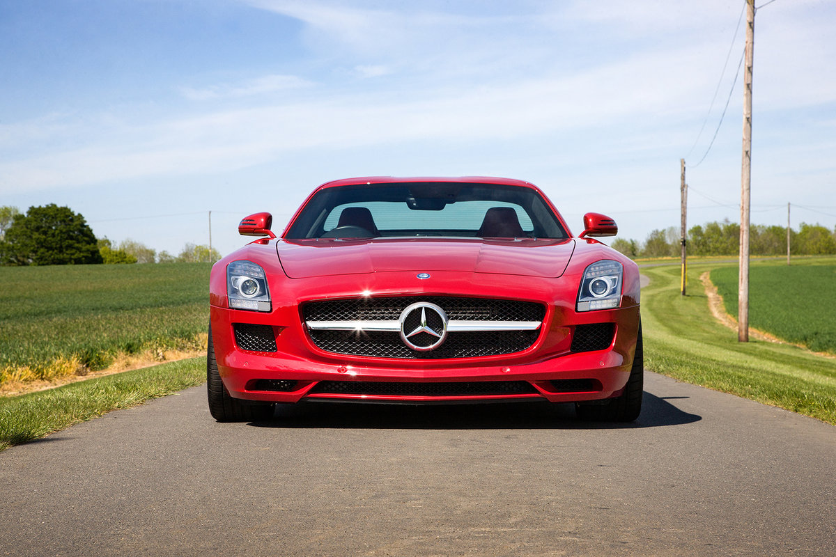 2010 Mercedes-Benz SLS AMG SOLD by Auction (picture 3 of 6)