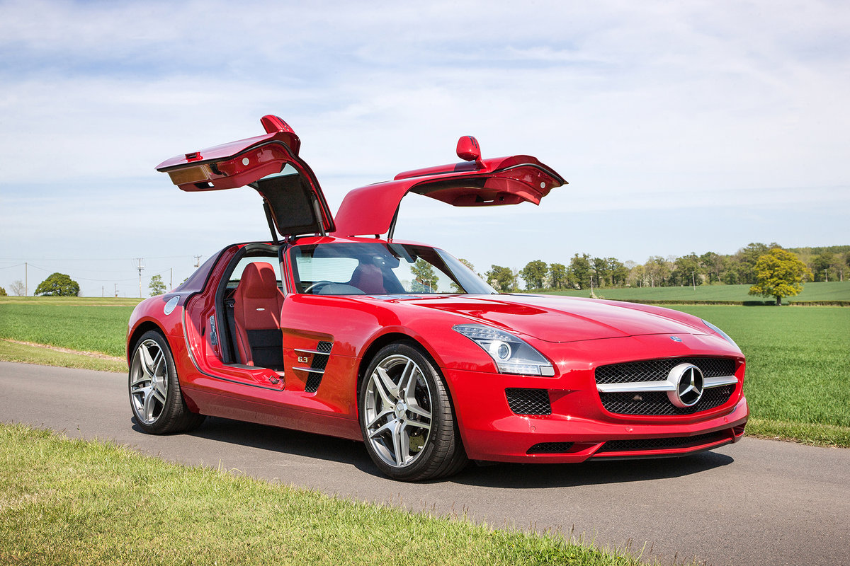 2010 Mercedes-Benz SLS AMG SOLD by Auction (picture 5 of 6)