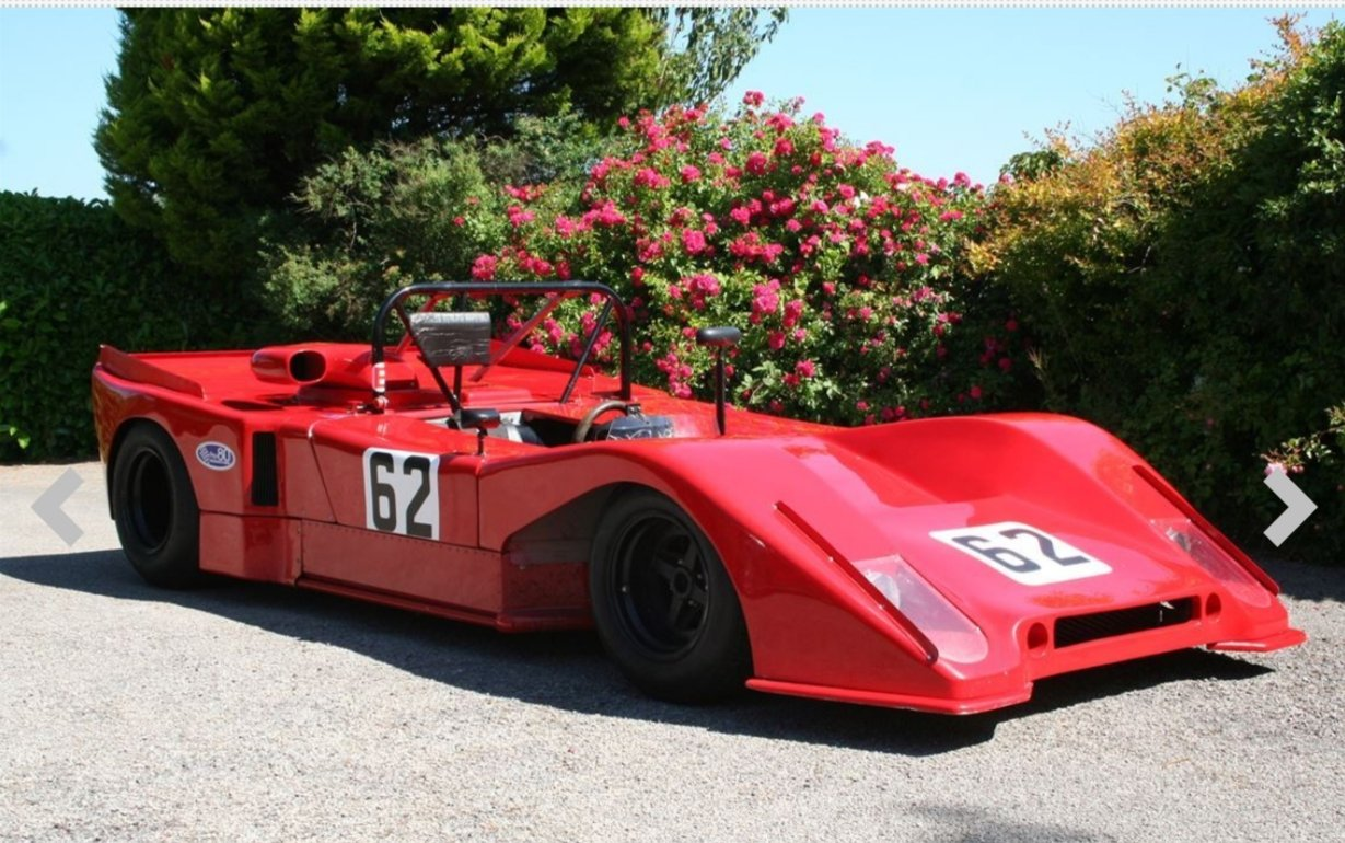 1971 Coldwell C14B Cosworth Sports Race Car SOLD by Auction (picture 2 of 4)