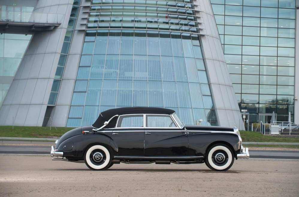 1954 1953 Mercedes-Benz 300b Cabriolet D SOLD by Auction (picture 4 of 6)