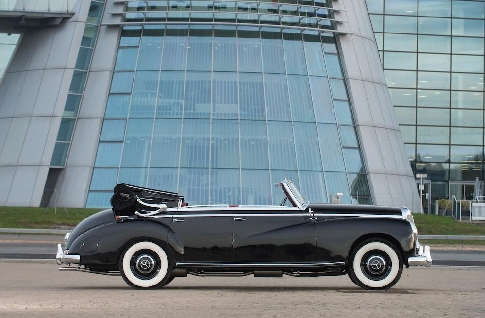 1954 1953 Mercedes-Benz 300b Cabriolet D SOLD by Auction (picture 6 of 6)