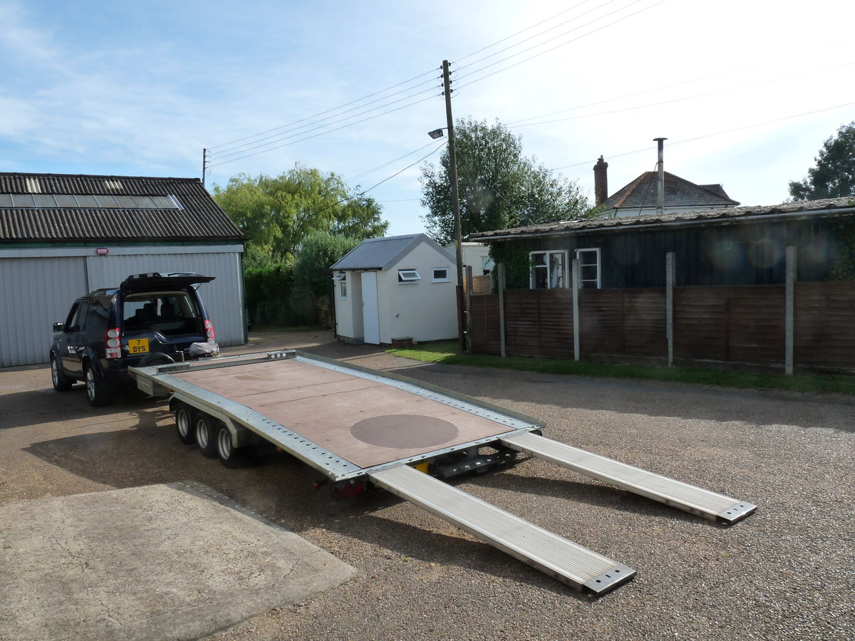 2011 Brian James TT356 car transporter trailer, Sold SOLD (picture 4 of 6)