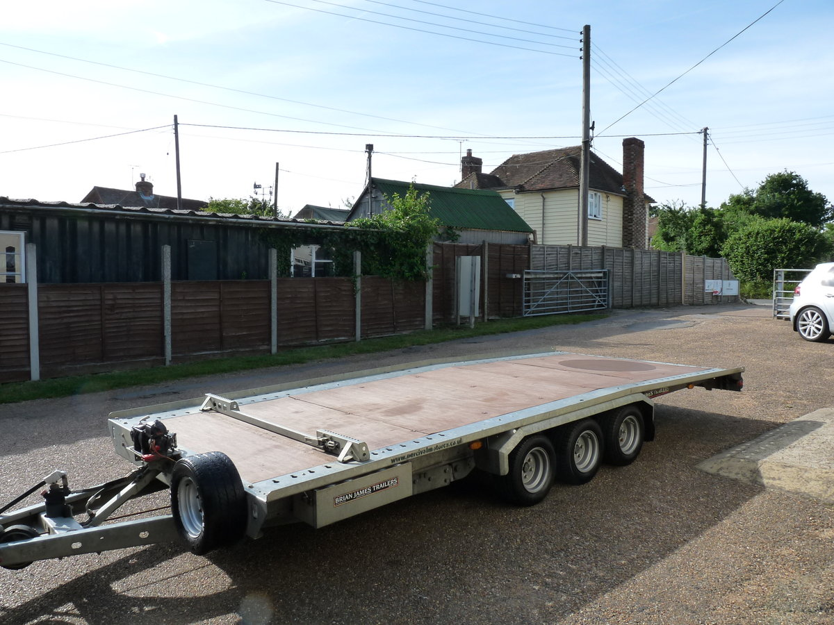 2011 Brian James TT356 car transporter trailer, Sold SOLD (picture 1 of 6)