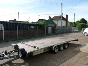 2011 Brian James TT356 car transporter trailer, Sold SOLD