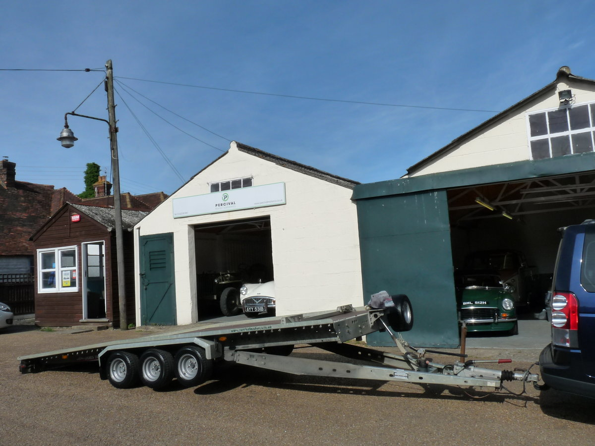 2011 Brian James TT356 car transporter trailer, Sold SOLD (picture 2 of 6)