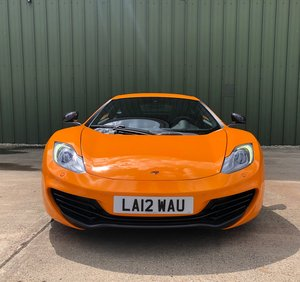 2012 Mclaren MP4-4C  only 435miles LHD   For Sale
