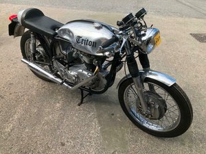 1959 TRITON 650cc T120R ENGINE WIDELINE FRAME. For Sale